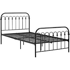 9 by novogratz bright pop twin metal bed multiple colors