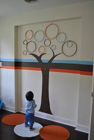 art to decorate your home decorations circular tree wall art decor for baby room nursery