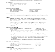 resume sle in pdf resume sle for engineering resumes electrical student pdf by