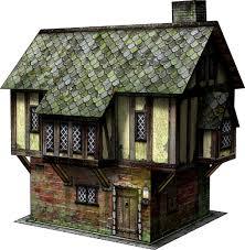 tudor house tudor house paper model dave graffam models fantasy medieval