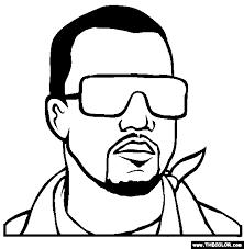 hip hop rap star coloring pages 1
