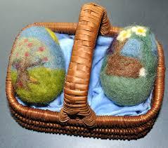 felted easter eggs handmade needle felted easter eggs