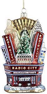kurt adler radio city glass ornament 5