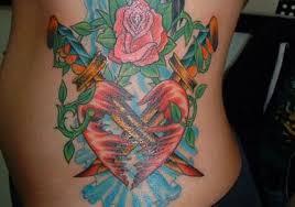 kickass female side tattoos designs creativefan