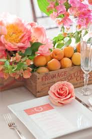 Coral Wedding Centerpiece Ideas by Summer Coral Wedding Inspiration Intimate Weddings Small