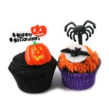 halloween cake picks spooky cupcake decorations the cake