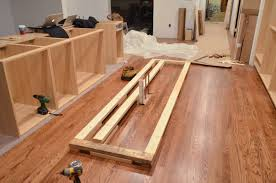 Installing Kitchen Cabinet Doors How To Install A Kitchen Island Home Decoration Ideas
