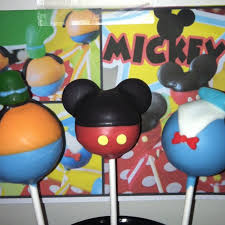 mickey u0026 friends cake pops by janine mickey mouse clubhouse