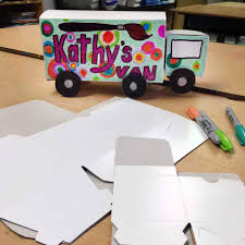 box car for kids gift box truck art projects for kids