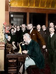 facts about alexander graham bell s telephone alexander graham bell making telephone call 2 inventions