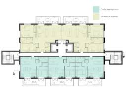 apartment building floor plan 8 unit apartment building plans interior design