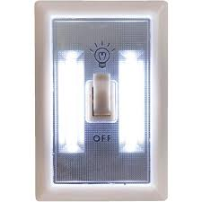 light switch cover night light visions cob led night light switch 08 1562 do it best
