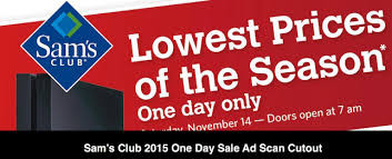sam s club officially announces black friday 2016 hours and plans