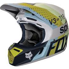 Fox Light Fox Light Gray Mvrs V3 Draftr Helmet 19519 097 S Atv Dirt Bike