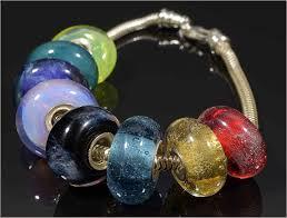 charms bead bracelet images European style charm bracelet memorial glass beads jpg