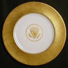 House Plate Dwight Eisenhower White House China