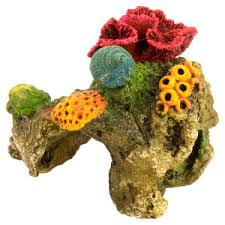 top fin brain coral aquarium ornament petsmart fishies