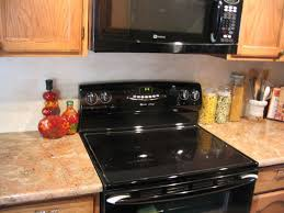 Types Of Kitchens Kitchen With Black Electric Stove Different Types Of Kitchen