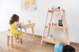 bureau bébé bois bureau trait d union pâle paulette sacha