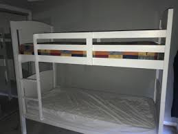 Sydney Bunk Bed Luxo Dante 2 In 1 Solid Pine Timber Bunk Bed White Beds