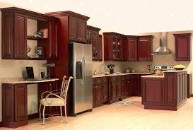 Kitchen Cabinet For Sale Dark Cherry Kitchen Cabinets For Sale Red Stain Floors Brown