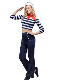nautical chic attire sailor costumes navy officer uniforms halloweencostumes