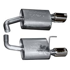 ford racing exhaust mustang v6 ford racing m 5230 m4sc mustang ecoboost sport axle back 2015 2017