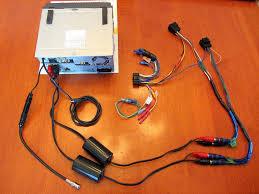 kenwood audio install with backup cam saab 9 5 2006