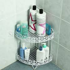 Bathroom Storage Rack Shower Corner Shelf Caddy Shelves Organiser Bath Storage Rack Bathroom