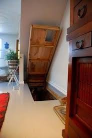 under stairs basement storm shelter panic room hiding