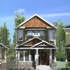narrow lot cottage plans modern house plans narrow plan for lots six bedroom split with two