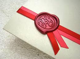 scroll wax seal wedding invitations wedding invitation ideas