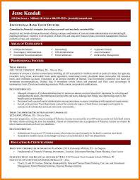 Bank Teller Resume Examples by 7 Cv Format For 2017 Postal Carrier