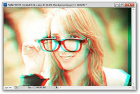 how to make classic red cyan 3d photos out of any image