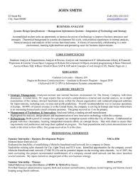 exle of business analyst resume sle business analyst resume musiccityspiritsandcocktail