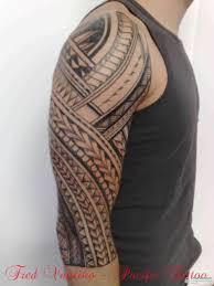 polynesian half sleeve tattoo photo 1 2017 real photo