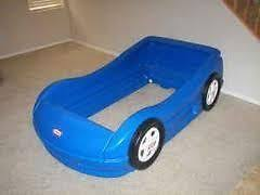 Blue Car Bed Little Tikes Blue Race Car Bed For Toddlers Mattress Mattress