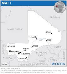 Map Of Mali Mali Reliefweb