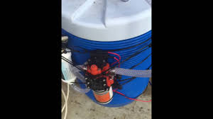 Homemade Outdoor Misting System by Dyi Pop Up Canopy Tent Mist System Youtube