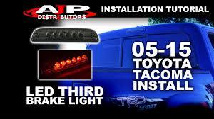 05 15 toyota tacoma led third brake light install ajp