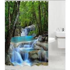 Shower Curtains Ebay 35 Best Waterfalls Shower Curtains Images On Pinterest Waterfall