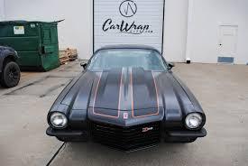 camaro z28 72 satin black 72 camaro z28 carbon fiber stripes car wrap city