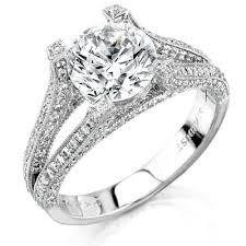 split band engagement rings split shank engagement ring by stardust designs ideals