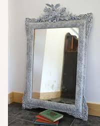 home design amazing distressed mirrors shabby chic etsy decor