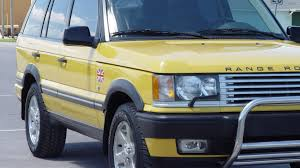 land rover yellow 2002 land rover range rover w137 indianapolis 2013