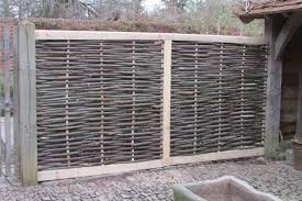 continuous woven sussex fencing panels u2013 ben law