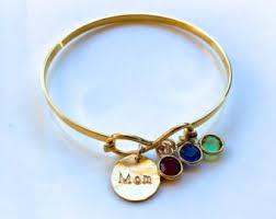 mothers day birthstone bracelet best bracelet etsy
