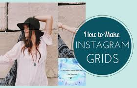 cara membuat instagram grid begini cara membuat foto menjadi beberapa bagian instagram grid