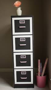 Yarn Storage Cabinets File Cabinet Makeover Design Improvised