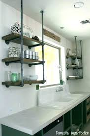 shelf ideas for kitchen kitchen corner shelf easy open shelving in the kitchen crafted